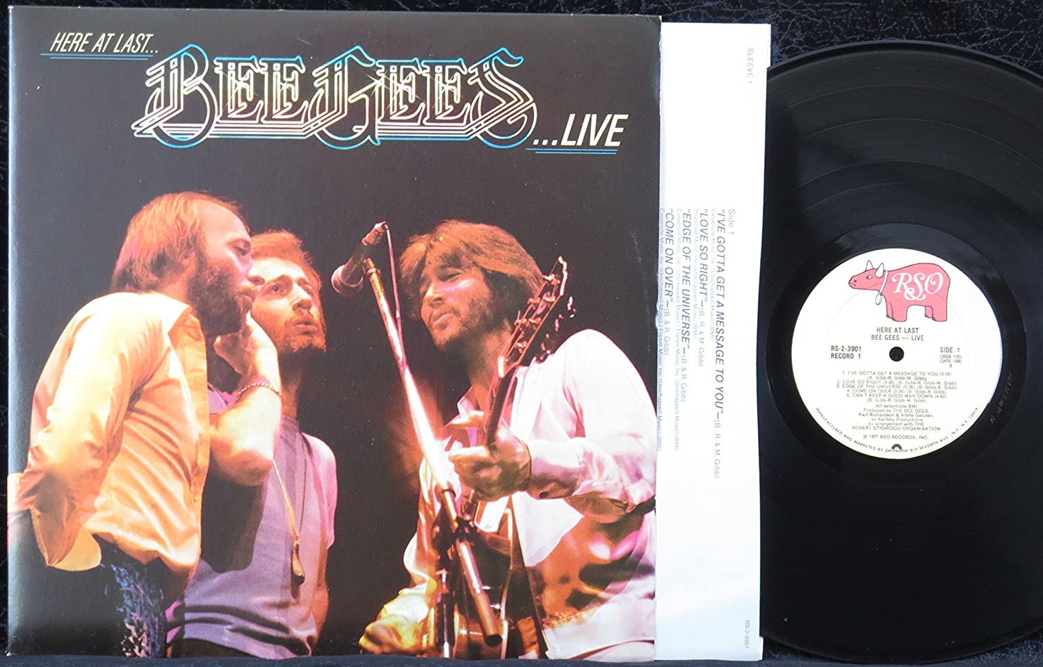 Amazon.com: Here at Last... Bee Gees ...Live (USA 1st ...