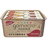 GoMacro Macrobars - Cashew Caramel 12 Bars