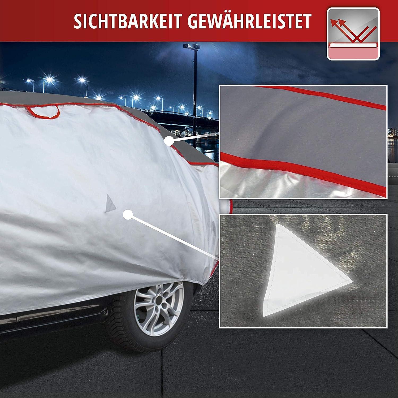 Walser Auto Hagelschutzplane Premium Hybrid SUV wasserdichte atmungsaktive Hagelschutzgarage f/ür optimalen Hagelschutz Gr/ö/ße XL 31081