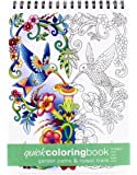 Garden Paths & Forest Trails Quick Coloring Book -- Large (8.62 x 11.75 inches)