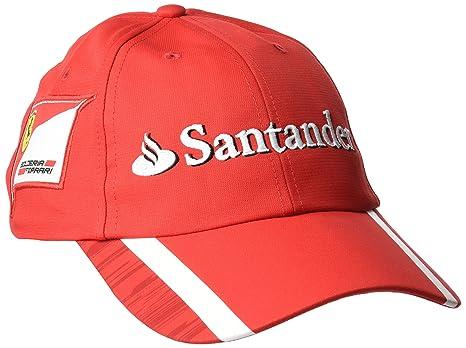 Image Unavailable. Image not available for. Color  Ferrari Scuderia Formula  1 Team Hat cbbecbd26d8