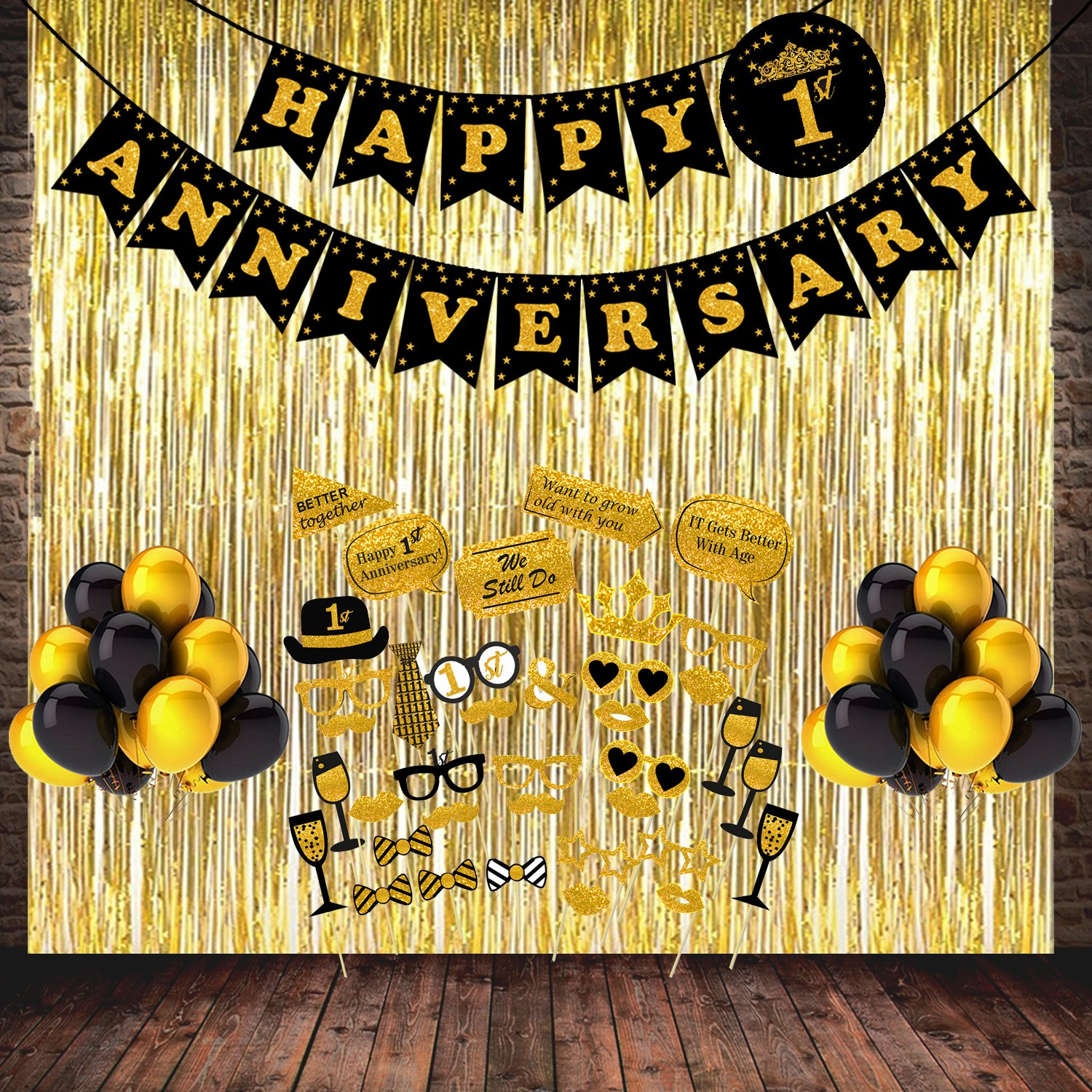 Balloon Decoration Anniversary Decoration Ideas At Home Types Of Wood