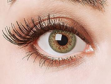 Exceptionnel Couleur des lentilles de contact naturelles Green Glamour de  MZ18
