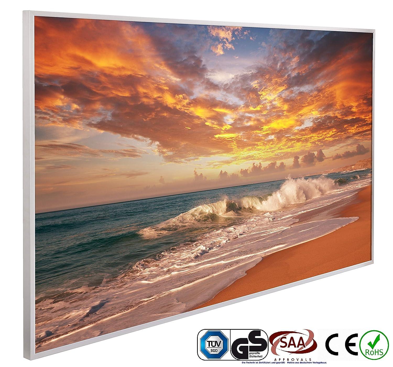 Chauffage infrarouge 600 W Chauffage /électrique 1026 New York 60 x 100 cm Chauffage plat Certifi/é CE ROHS SAA Panneau chauffant /électrique