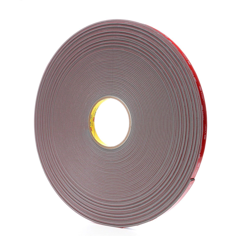91 mil Case of 9 3M VHB Tape 4991 1 in x 36 yd Gray