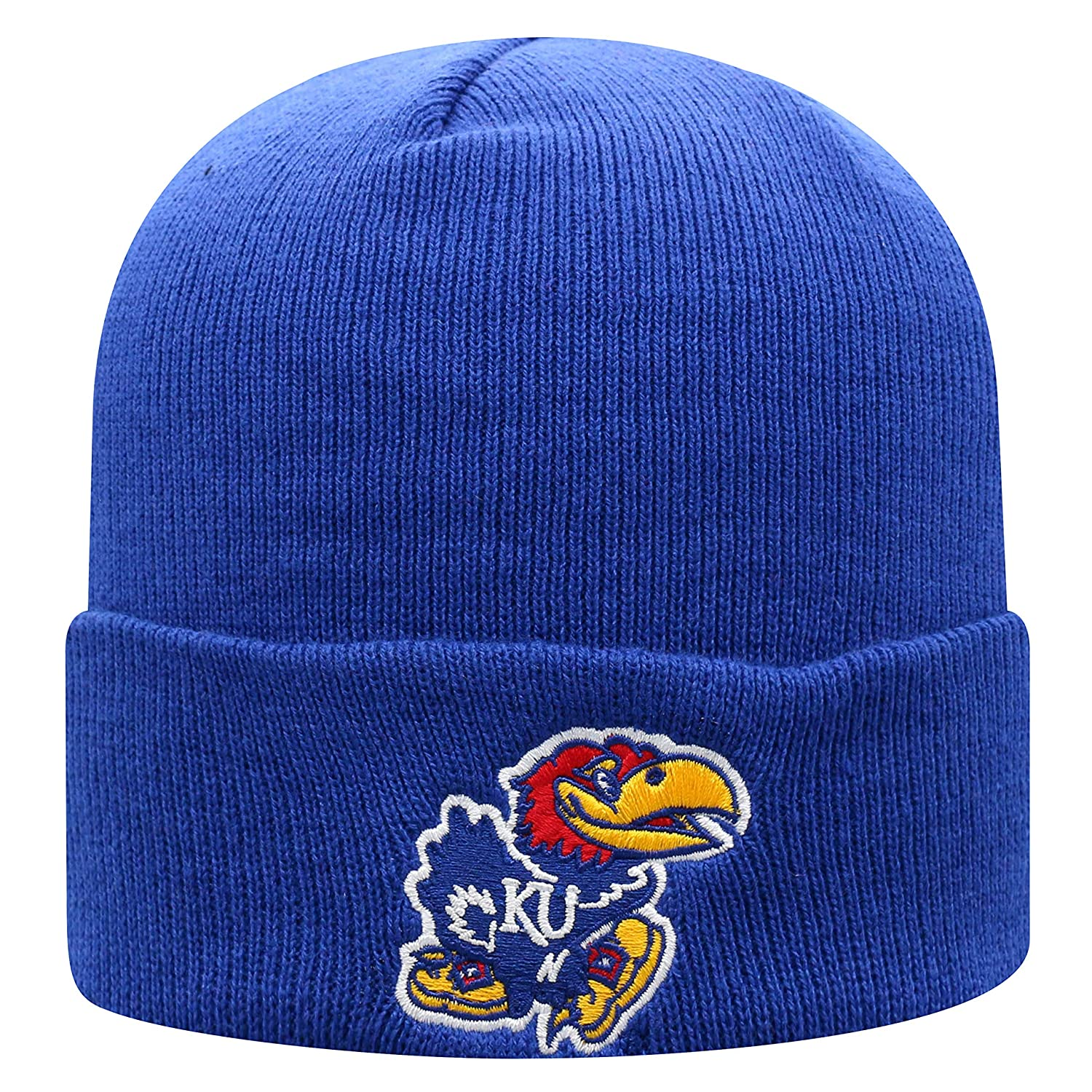 big sale 31451 1f7bc Amazon.com   Top of the World Air Force Falcons Men s Winter Knit Hat Icon,  Royal, One Fit   Clothing