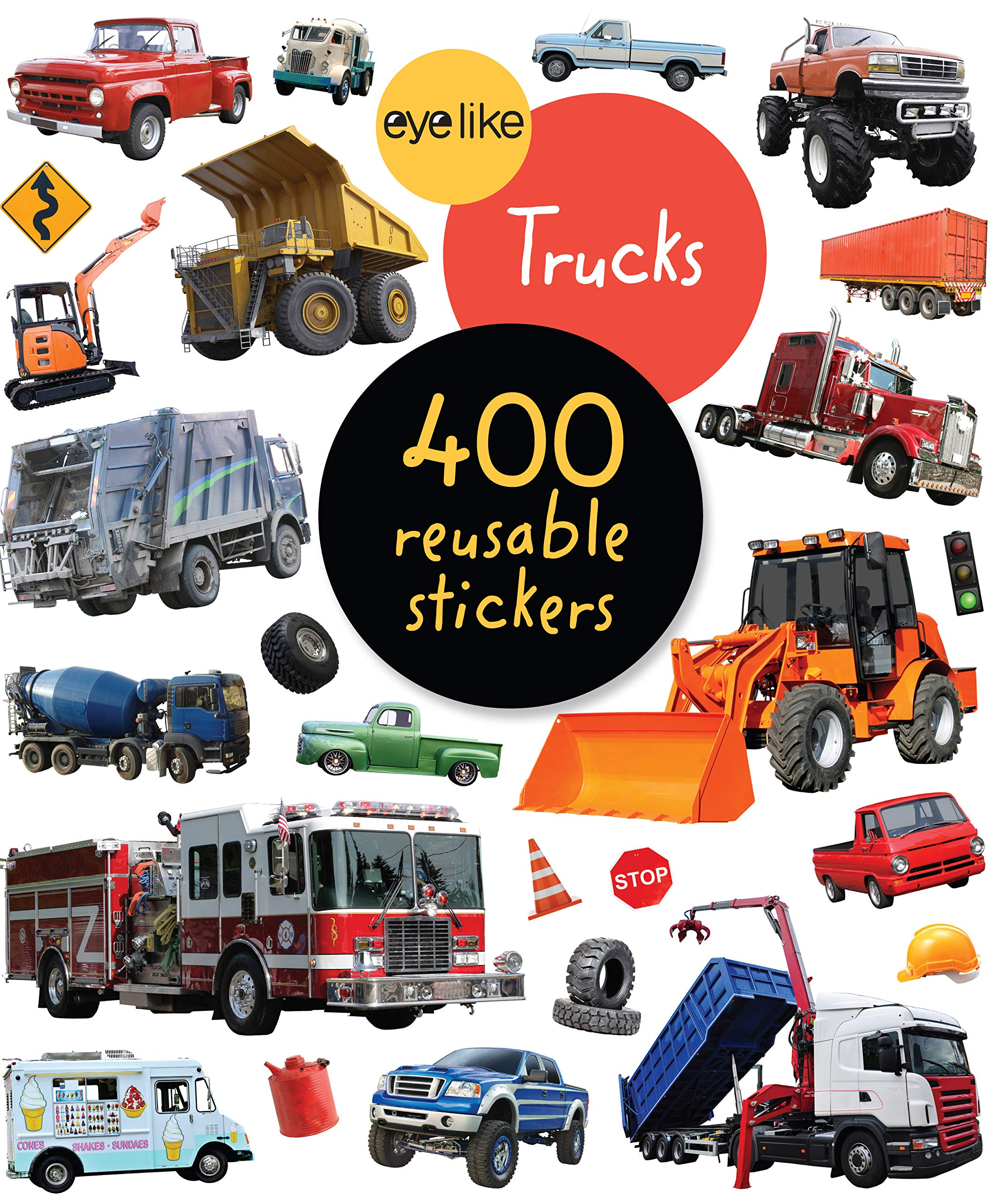 EyeLike Stickers  Trucks