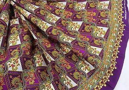 2e02a025f Amazon.com: Violet & Colorful Floral Printed Sarong in Batik ...