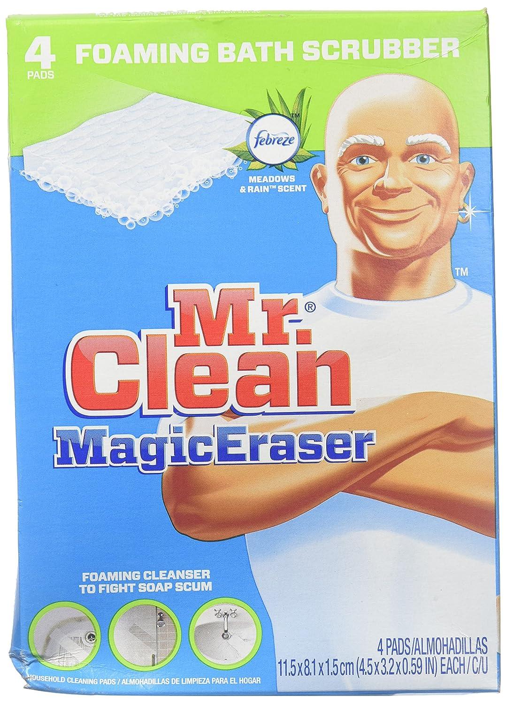 Mr. Clean Magic Eraser Foaming Bath Scrubber - 4 pk 37000325635 AXCX530253