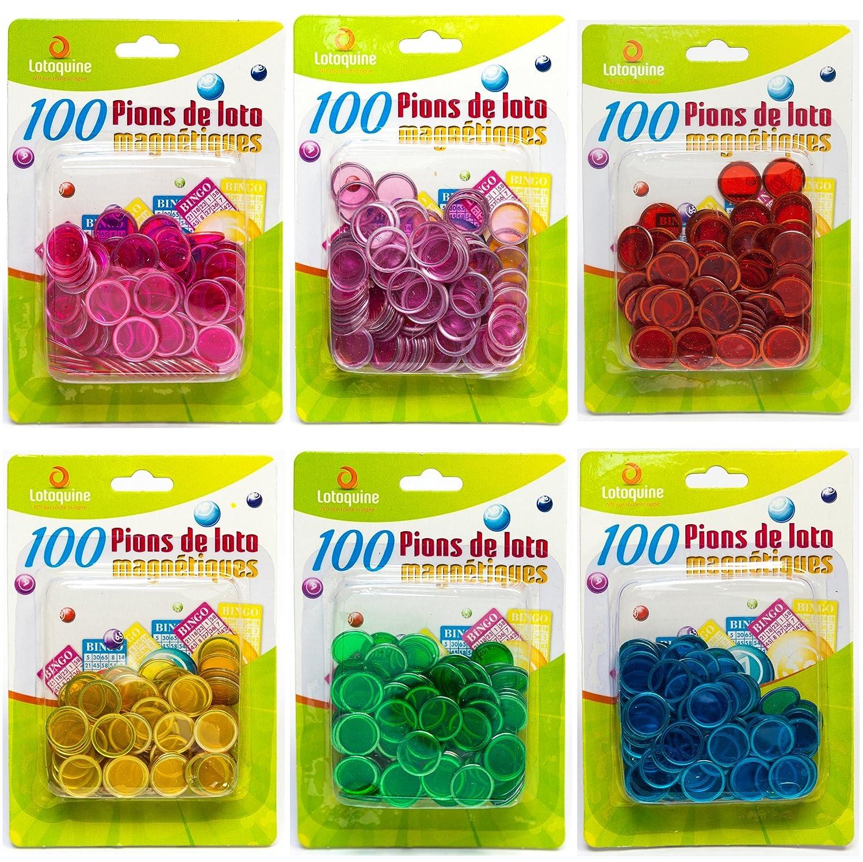 100 pions pour loto bingo