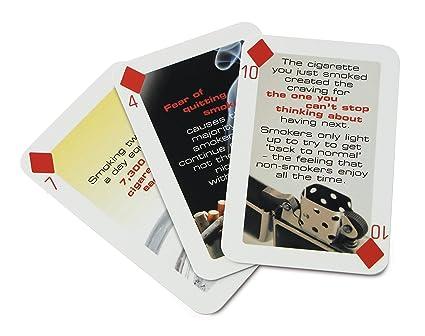 Amazon.com: 52 Formas para dejar de fumar Juego de cartas ...