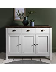 Laura James Chatsworth 3 Drawer Sideboard Buffet in Painted Wooden