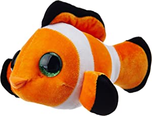 Wild Republic Clownfish Plush,Stuffed Animal, Plush Toy, Ocean Plush, L'il Sweet & Sassy, 5""