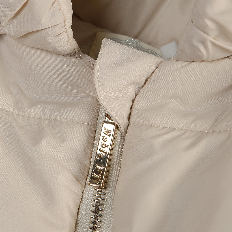 Richie House Girls Padding Jacket with Ruffled Mesh RH1395 Size 3-14Y