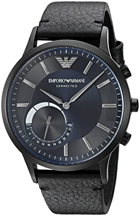 dbeee9c1be Amazon.com: Emporio Armani Hybrid Smartwatch ART3004: Watches