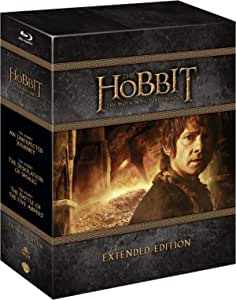 lo hobbit - la trilogia (extended edition) (9 blu-ray) box set blu_ray Italian Import