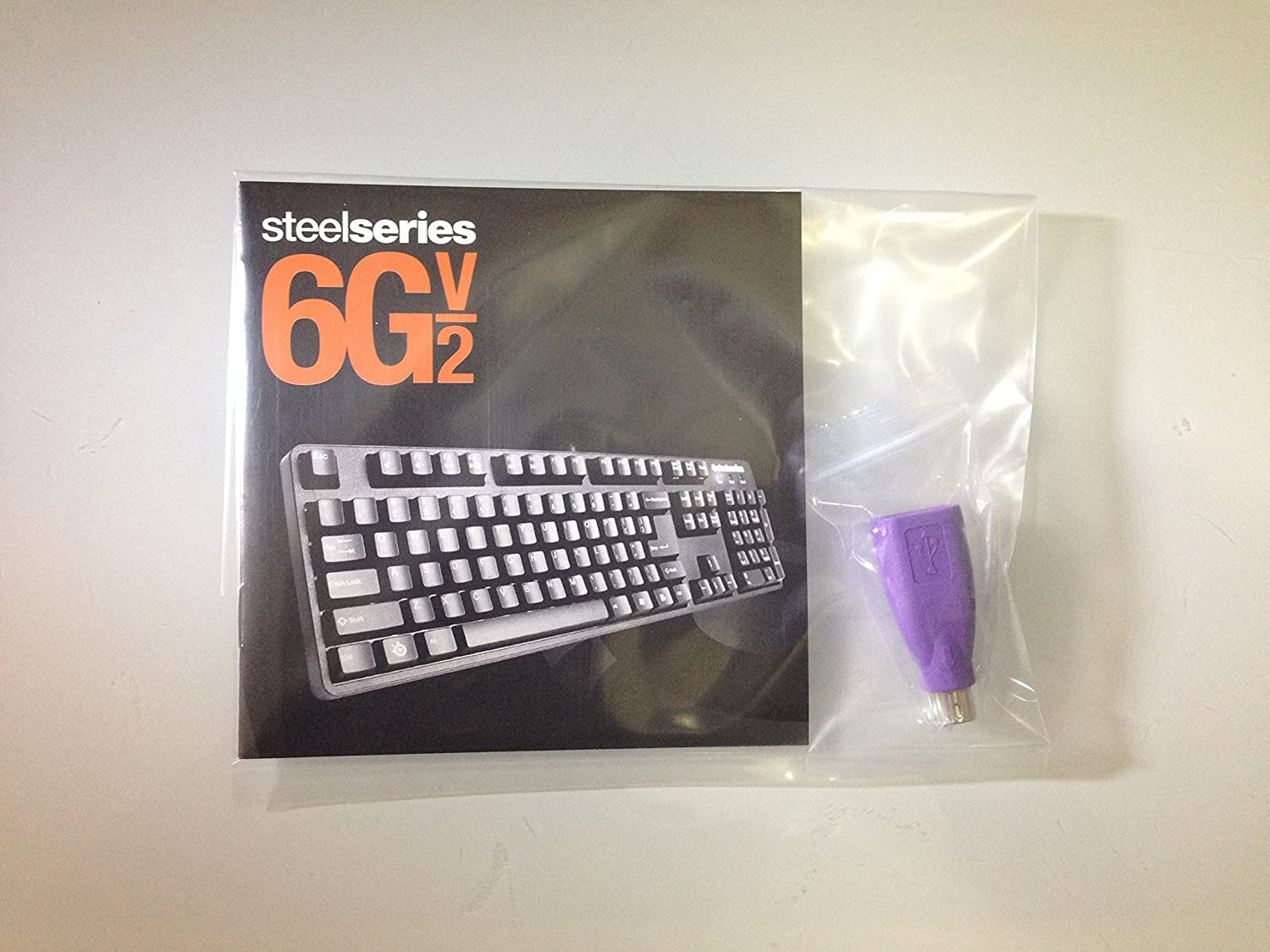 Amazon.com: SteelSeries 6Gv2 Wired Mechanical Gaming Keyboard Spanish Edition: Computers & Accessories
