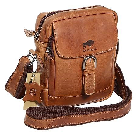 Solo vintage leather messenger bag remarkable