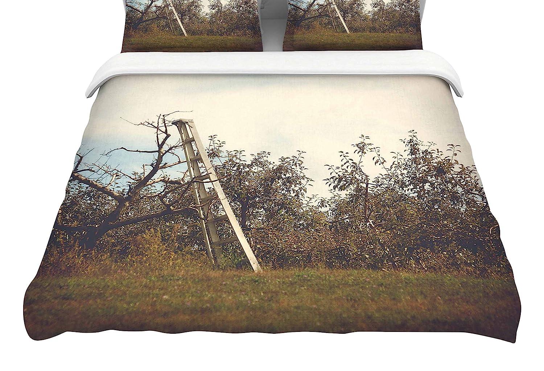 104 x 88 104 x 88 Kess InHouse Angie Turner Apple Picking King Cotton Duvet Cover