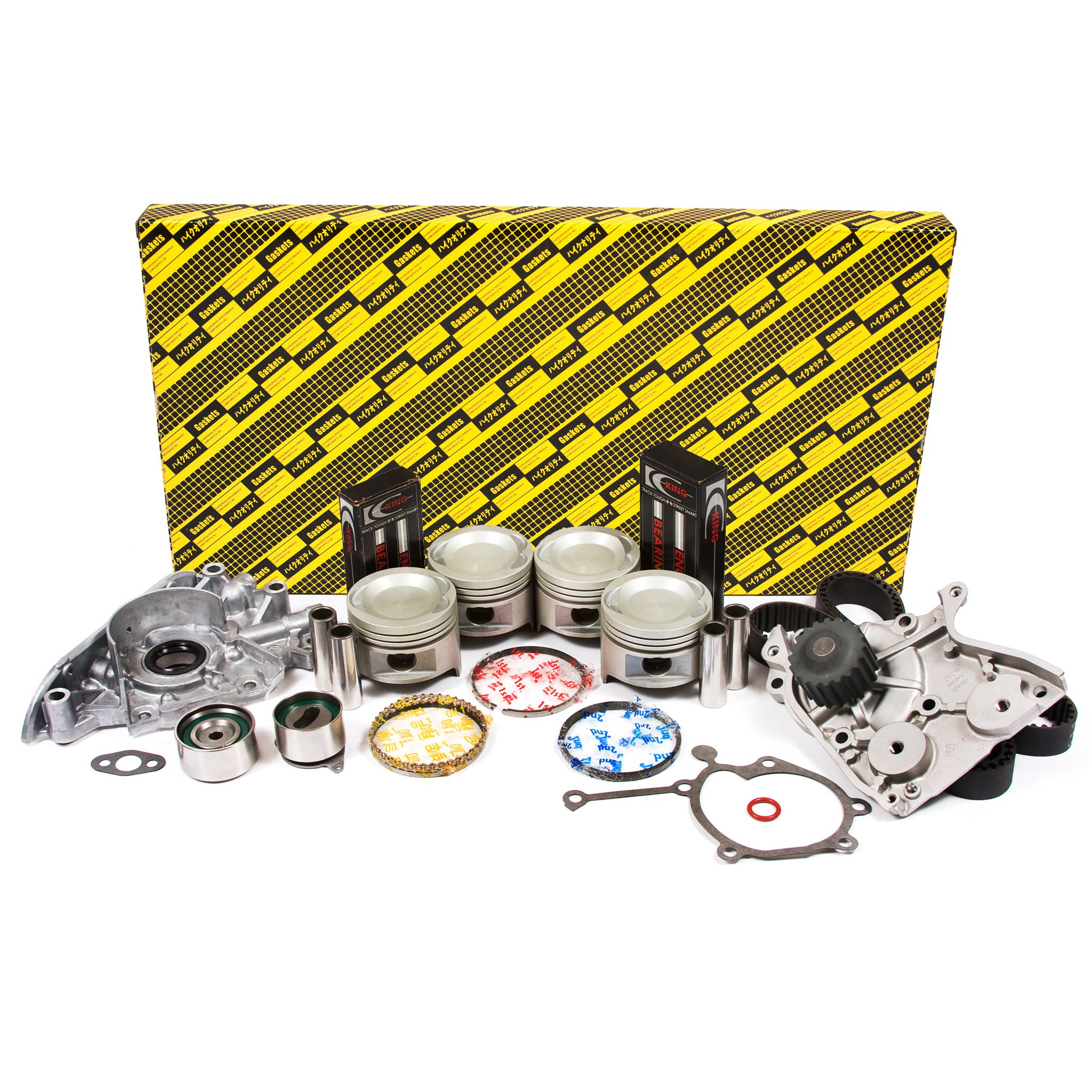 Evergreen OK6003/0/0/0 87-93 Mazda B2200 2.2 SOHC 8V F2 Engine Rebuild Kit