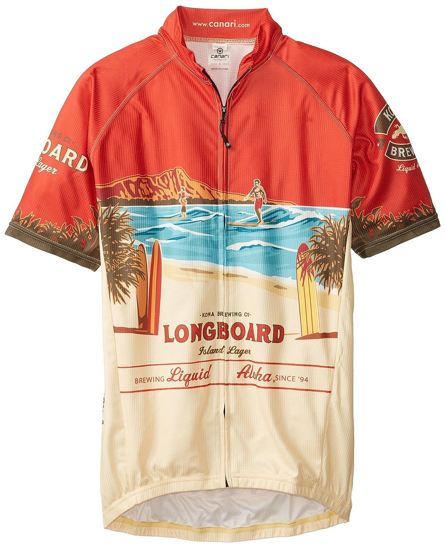 Canari Herren Kona Brauen Longboard Jersey