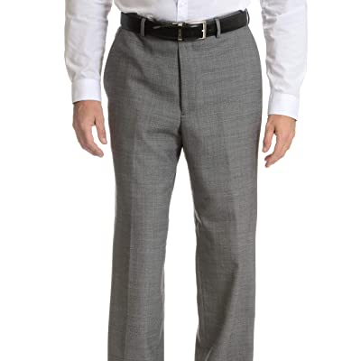 Palm Beach Men's Sam Flat Front Dress Pant at Amazon Men's Clothing store