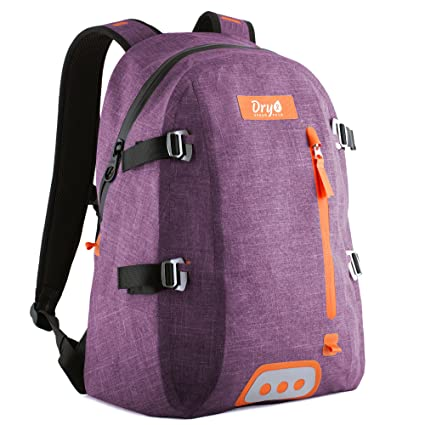 100% Waterproof Backpack with Airtight Zipper - Eco Friendly   PVC Free -  Removable Multi dbd680d69d0c9
