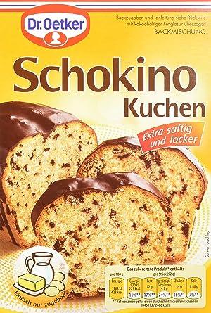 Dr Oetker Schokino Kuchen 8er Pack 8 X 480 G Packung Amazon De