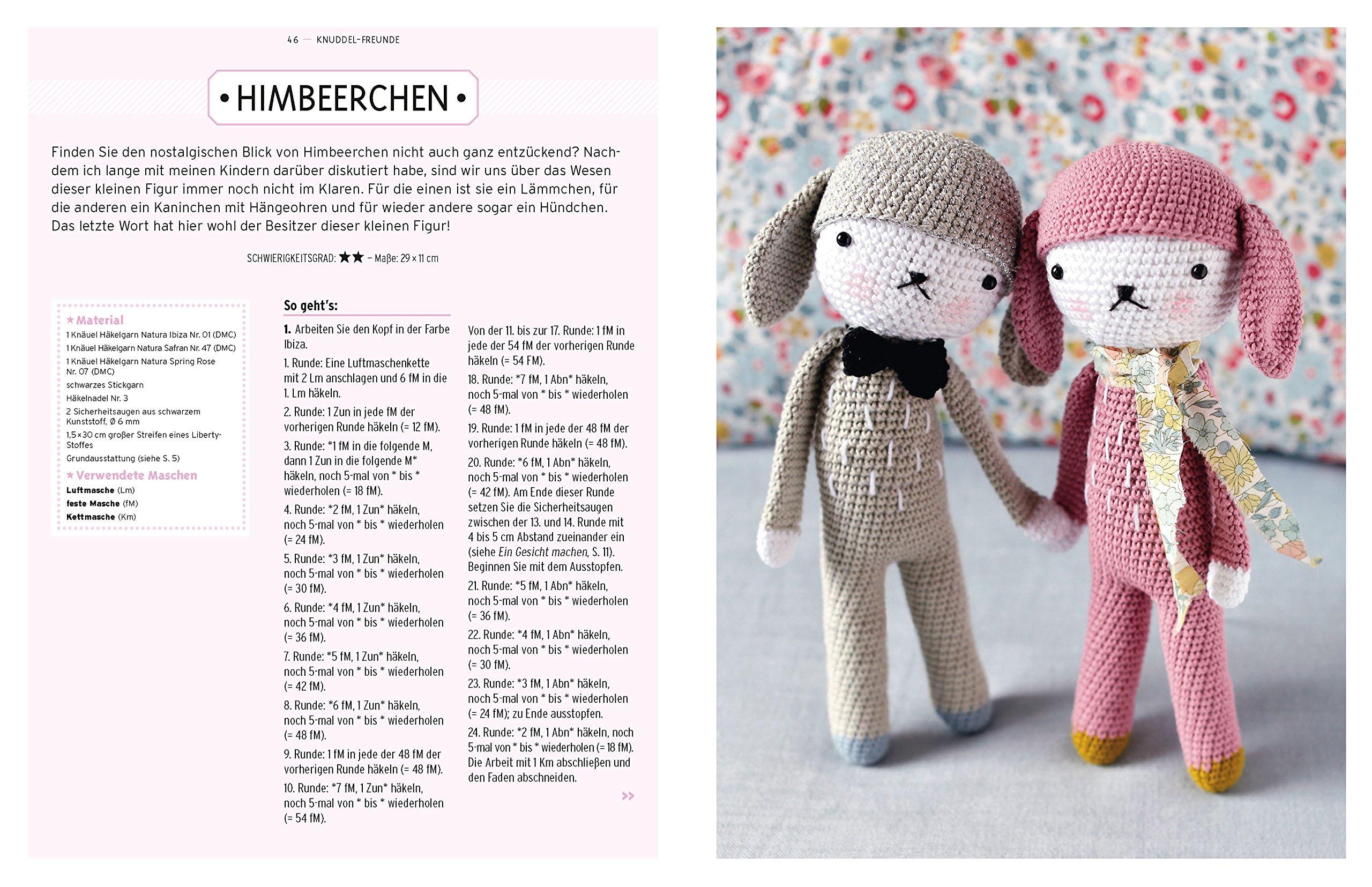 Knuddel-Freunde: Tiere und mehr zum Häkeln: Amazon.de: Sandrine ...