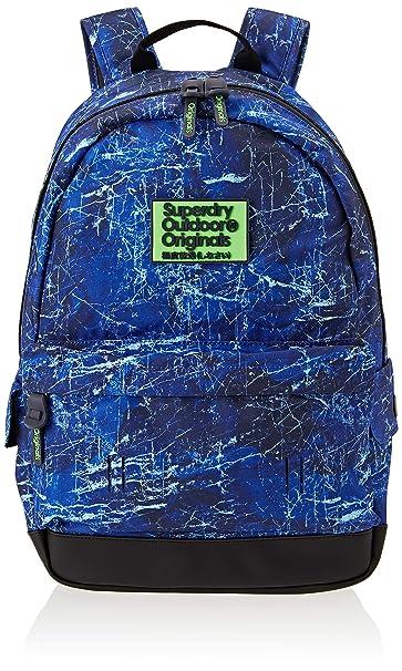 Superdry - Marble Montana, Mochilas Hombre, Azul (Blue), 30x45x15 cm (W x H L): Amazon.es: Zapatos y complementos