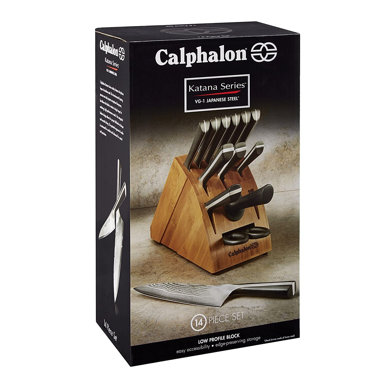 calphalon katana cutlery 14 piece knife set 016853042357 calphalon katana cutlery 14 piece knife set 016853042357
