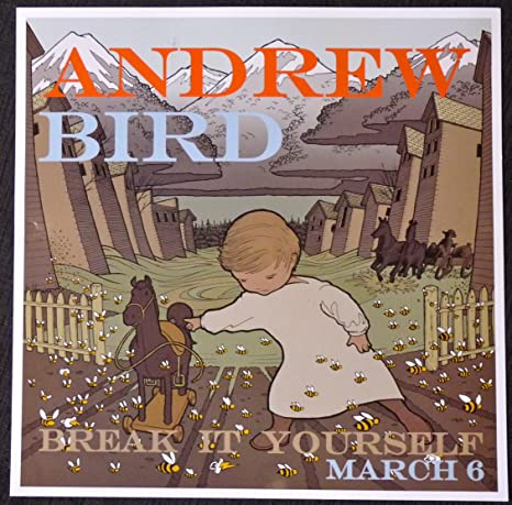 Amazon.com: Andrew Bird – Break It Yourself – Rare 2-Sided ...
