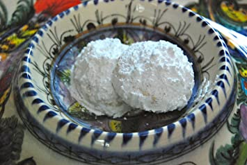 Kourambiedes Hand Made Traditional Greek Holiday Cookies 16 Oz