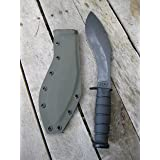 Valhalla Custom Kydex Sheath Ka-bar Combat Kukri 1280 OD GREEN