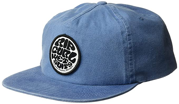 9eb3d95a74bcf Amazon.com: Rip Curl Men's Washed Wettie Snapback, Blue, 1SZ: Clothing