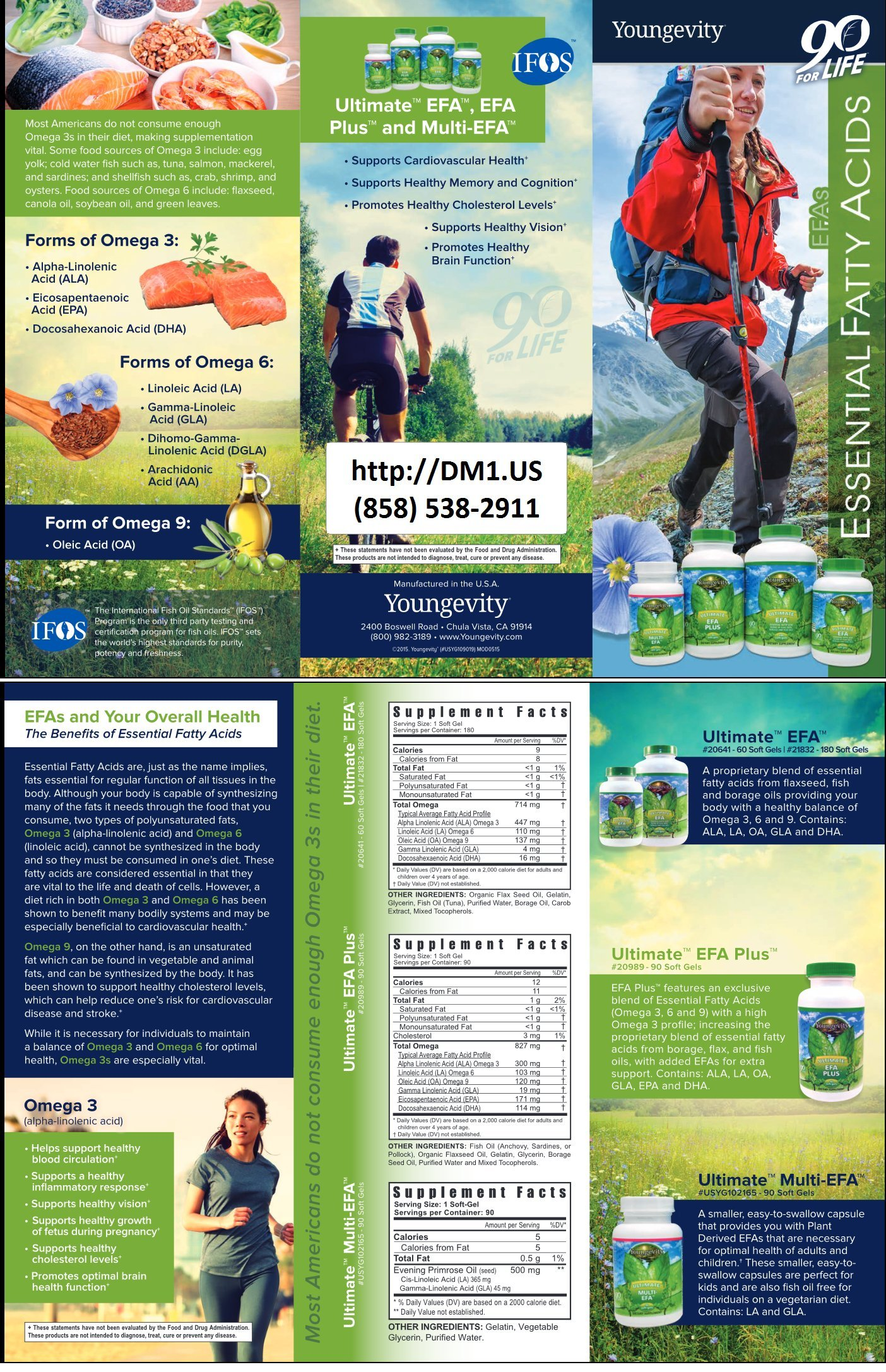 Healthy Body Bone and Joint Pack 2.0 by Youngevity (Ships Worldwide)