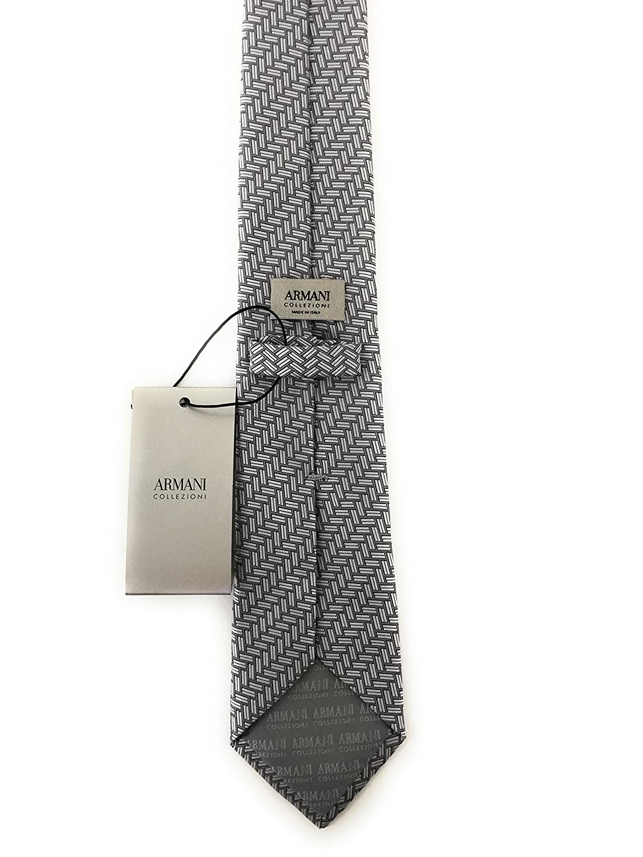 Armani JEANS - Corbata - para hombre gris Talla única: Amazon.es ...