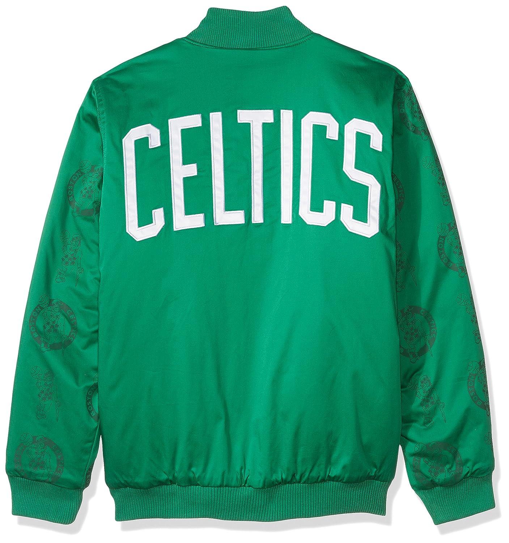 Starter Adult Men Varsity Bomber Jacket Green Large