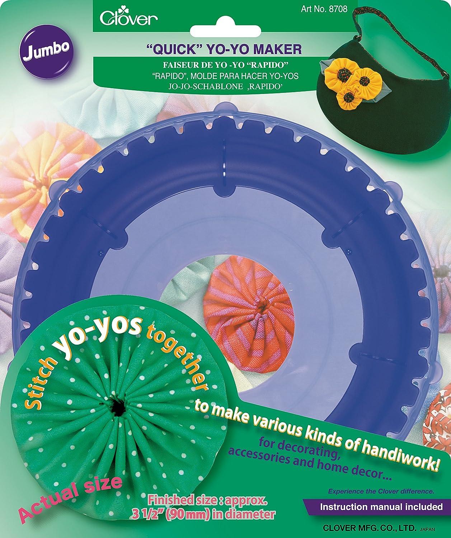 Clover 8703 Round Extra Large Yo-Yo Maker