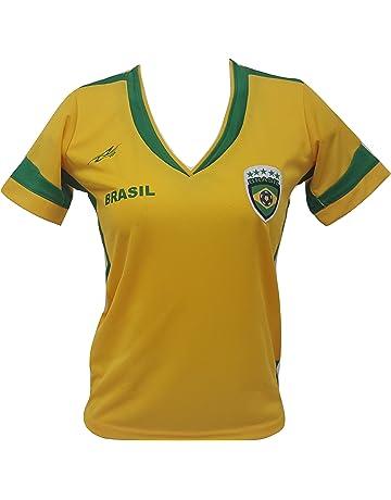 Arza Sports Brazil Slim Women Soccer Jersey