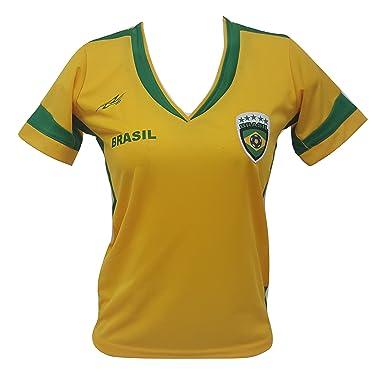 58e0c46a7 Brazil Women s Soccer Jersey Exclusive Design Copa America 2016 (Large)