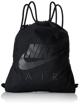 1f222ef915 Nike NK Heritage GMSK 1-GFX Sac de Sport Mixte Adulte, Noir/Anthracite