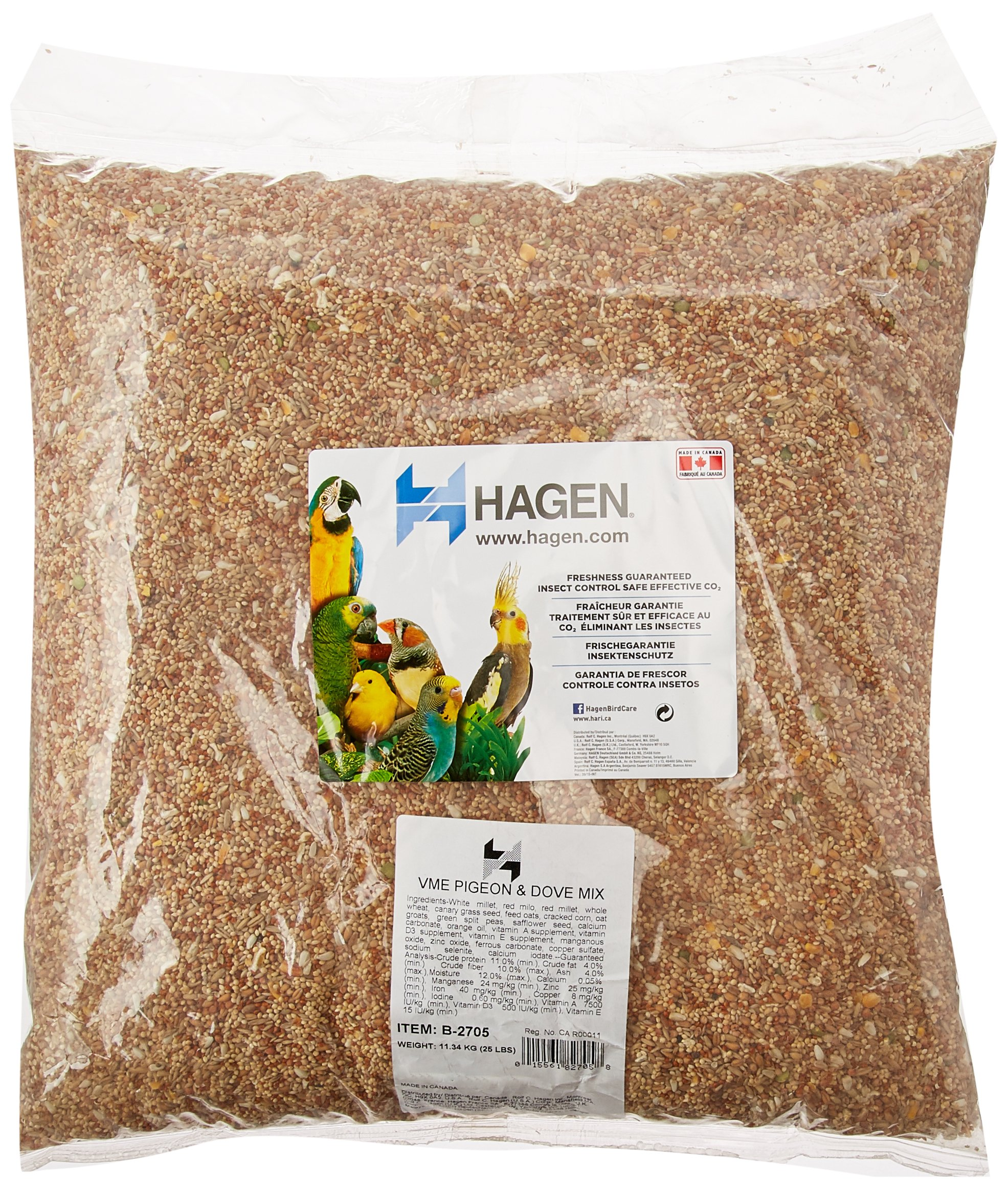 Hagen Pigeon And Dove Staple Vme Seed, 25-Pound by Hagen