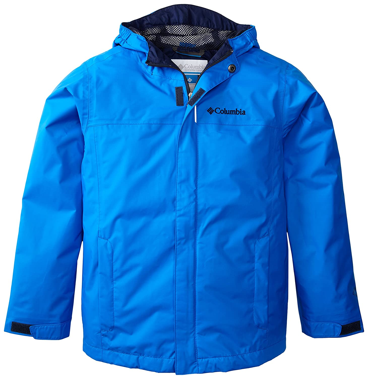 Columbia Watertight Jacket - Chaqueta para niño, color azul, talla S 1168451Littleboys