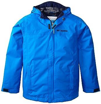 Columbia Watertight Jacket - Chaqueta para niño, color azul, talla S: Amazon.es: Deportes y aire libre
