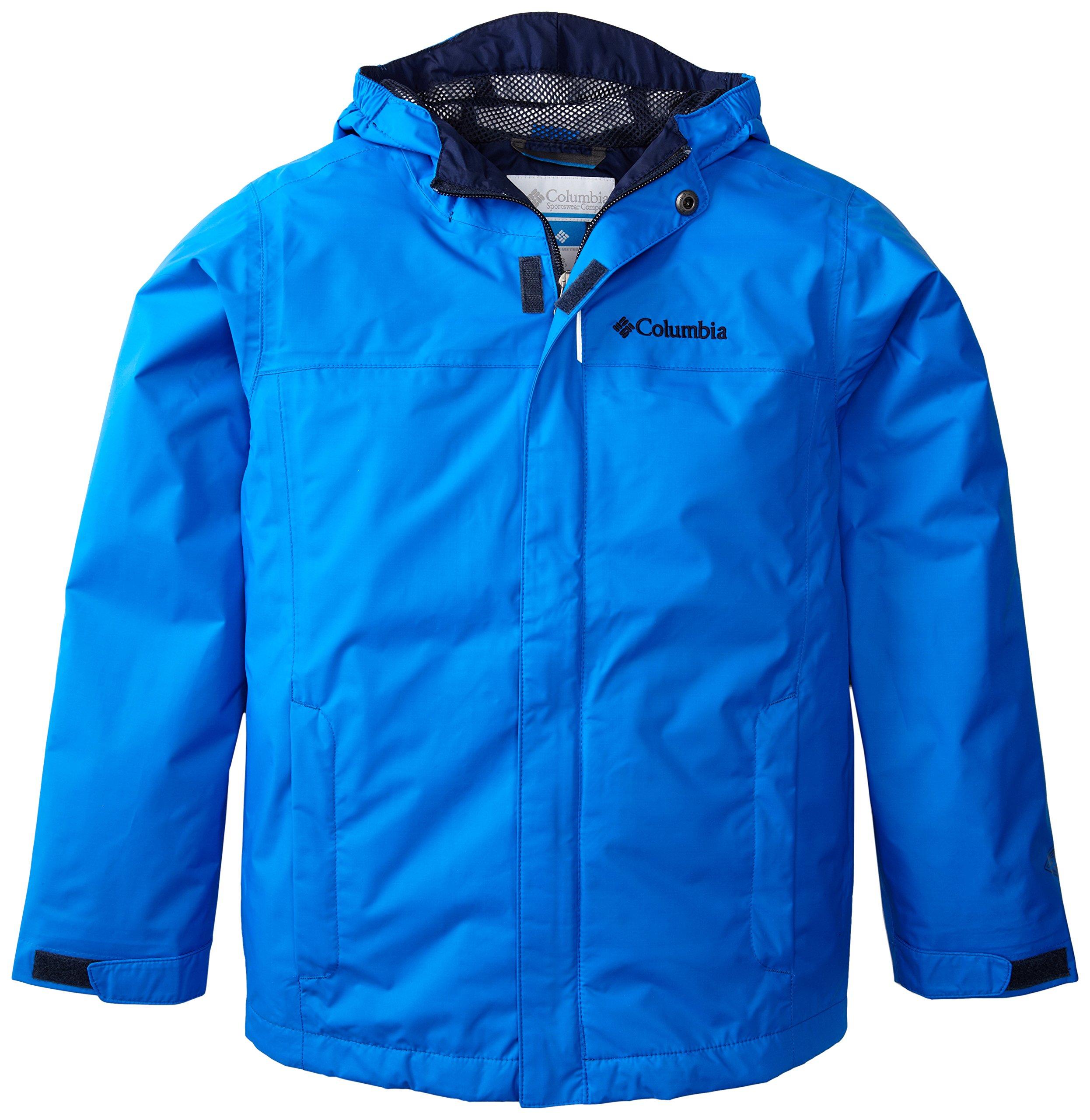Columbia Big Boys' Watertight Jacket, Hyper Blue, Large