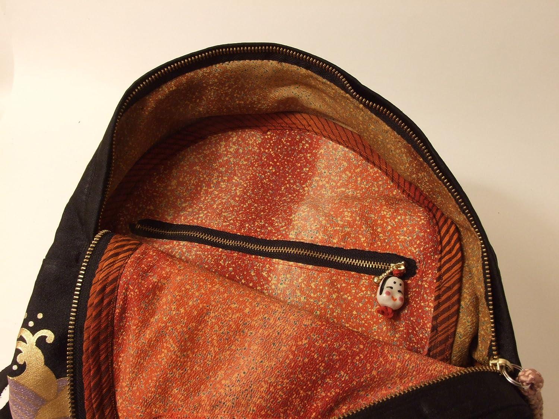 Obi-kei Silk Elegant Backpack  Flower of Weves 716