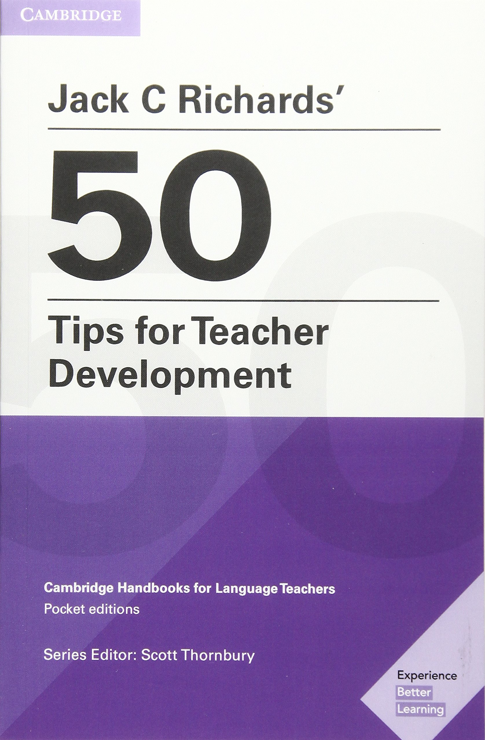 Image result for Jack C. Richards' 50 Tips for Teacher Development