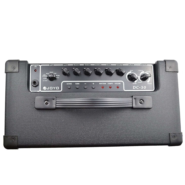 Amplificador combo para guitarra Joyo pedales DC-30: Amazon ...