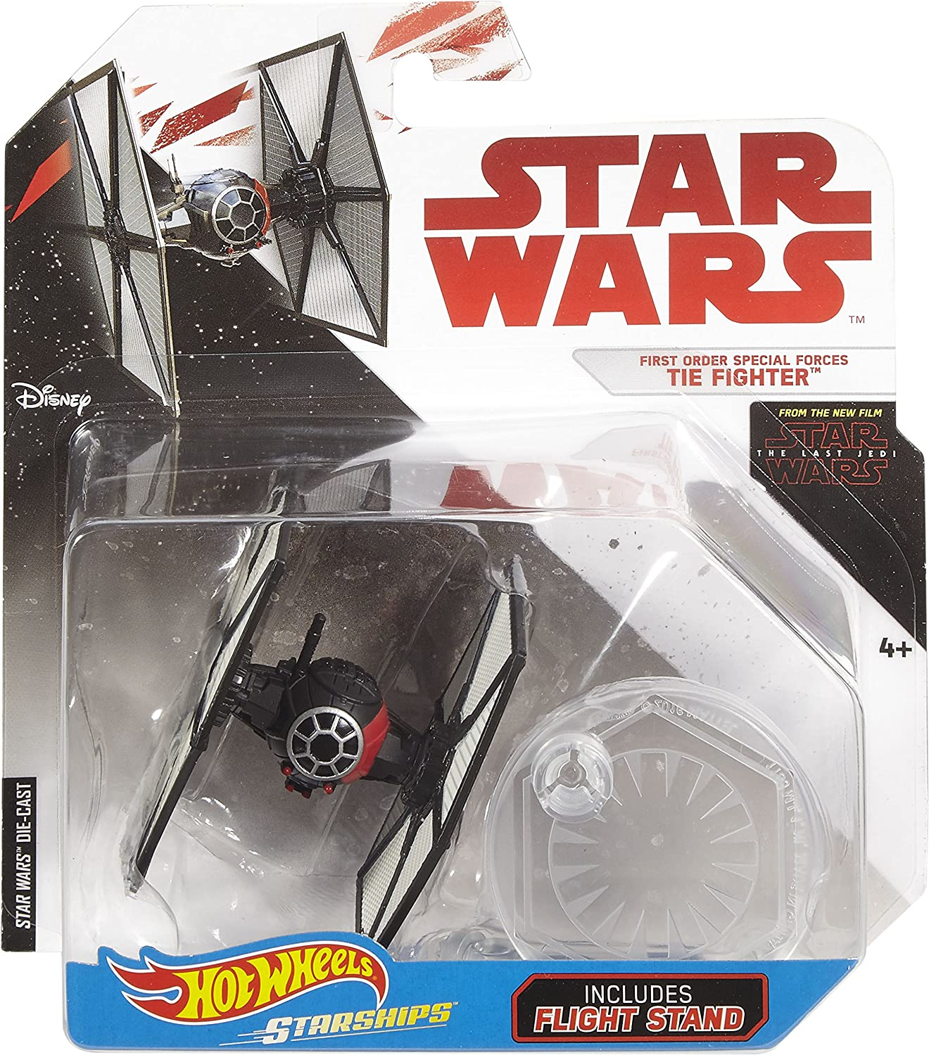 Hot Wheels Star Wars The Last Jedi First Order Special Forces Tie Fighter: Amazon.es: Juguetes y juegos